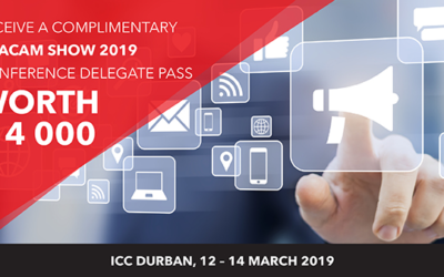 Stand a chance to win a NAACAM Show 2019 conference delegate ticket, valued at R 4000.