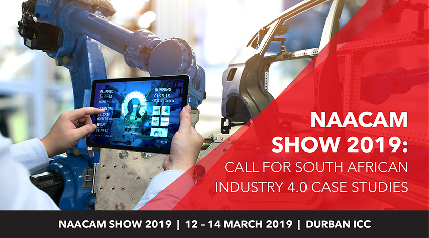 Naacam Show Industry 4.0 speaker call
