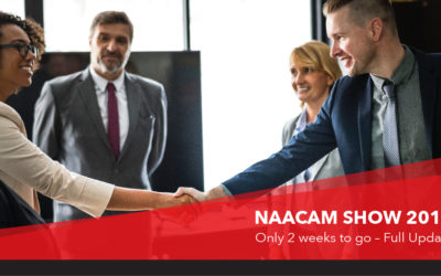 Naacam Show- Only two  2 weeks to go