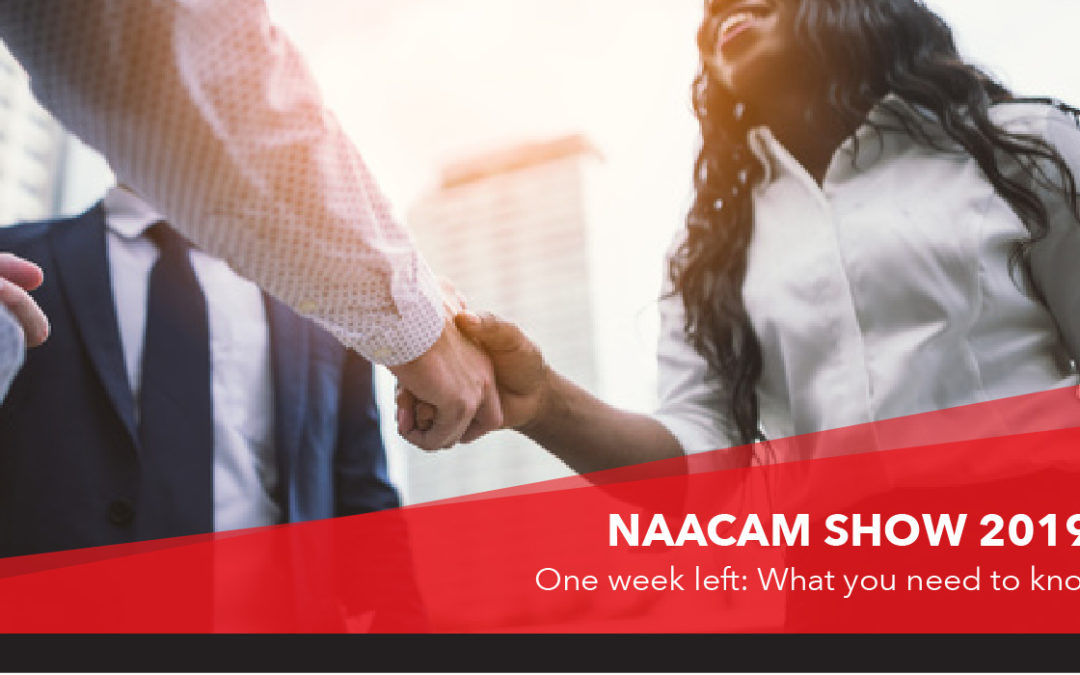 Naacam Show 2019: 1 week to go